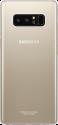 SAMSUNG Clear Cover - Per Samsung Galaxy Note 8 - Oro