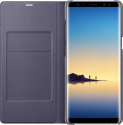 SAMSUNG LED View Cover - Pour Samsung Galaxy Note 8 - Gris