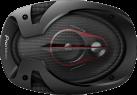 Pioneer TS-R6951S - Diffusori - 400 W - nero