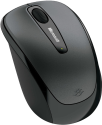 Microsoft Wireless Mobile Mouse 3500, schwarz