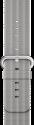 Apple 42 mm Armband aus gewebtem Nylon - Grau