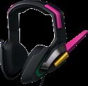 Razer D.Va MEKA - Over-Ear Gaming Headset - Multiplattform-Kompatibilität - Schwarz/Pink