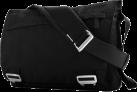 bluelounge Eco Friendly Messenger Bag, schwarz