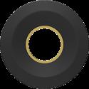 bluelounge CableYoyo10, Schwarz/Gold
