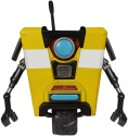 Funko Borderlands: Claptrap POP! Vinyl - Figure de jeu - 9 cm