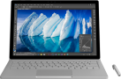 Microsoft Surface Book - Convertibile - Disco fisso SSD 1 To - Argento