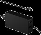 Microsoft 102 W - Unité de bloc d'alimentation pour Surface Book - Avec port USB - Noir