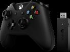 Microsoft Xbox Controller + Wireless Adapter für Windows - Bluetooth - Schwarz