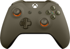Microsoft Xbox One Wireless Controller, Grün/Orange