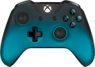 Microsoft Xbox One Wireless Controller, Bleu/Noir