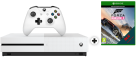 Microsoft Xbox One S + Forza Horizon 3 (Play Anywhere DLC) - 500GB - Weiss