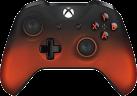 Microsoft - Controllore Bluetooth - Per Xbox One - Nero/Rosso