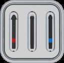 Microsoft Kit di punte per Penna - Per Penna per Surface con unico pulsante laterale - Nero