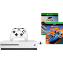 Microsoft Pack Xbox One S + Forza Horizon 3 Hot Wheels - 500 Go - Blanc