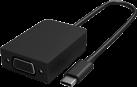 Microsoft Adaptateur - USB-C-/VGA - Noir