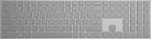 Microsoft Modern Keyboard - Tastiera - con Fingerprint-ID - Grigio