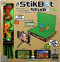 ZING Toys StikBot Studio Pro - Ein Set, um deinen eigenen animierten Film zu kreieren - Bunt