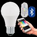 EGLO 11585 CONNECT, Bluetooth LED- Lampadina RGBW incl. telecomando CONNECT, bianco