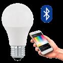 EGLO 11586 CONNECT, Bluetooth LED-Lampadina RGBW, bianco