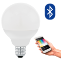 EGLO 11659 CONNECT, Blueooth LED-Lampadina RGBW, bianco