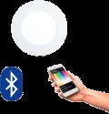 EGLO 32737 FUEVA CONNECT, Bluetooth LED-Einbauleuchten RGBW, weiss