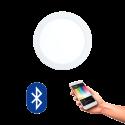 EGLO 32738 FUEVA CONNECT, Bluetooth LED-Einbauleuchten RGBW, weiss