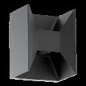 EGLO 93319 MORINO - Lampada da parete - 2x 2,5 watts - Antracite