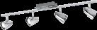 EGLO CORBERA - Spot - 4x 240 lm - Chrom