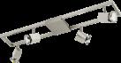 EGLO ZERACO - Luminaire d'intérieur - 4x 5W - Nickel mat