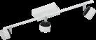 EGLO ARMENTO 93854 - Deckenleuchte - 3x 6 W - Weiss/Schwarz