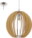 EGLO COSSANO 94764 - Lampada a sospensione - Max. 60 W - Maple