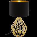 EGLO PEDREGAL 1 95186 - Tischleuchte - 60 W - Schwarz/Gold