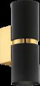 EGLO PASSA Ø60 cm - Wandleuchte - GU10 - schwarz/gold