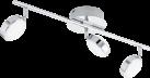 EGLO SALTO 95631 - Deckenleuchte - 3x 5.4 W - Chrom