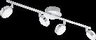 EGLO SALTO 95632 - Deckenleuchte - 4x 5.4 W - Chrom