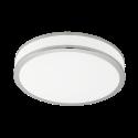 EGLO PALERMO 3 95685 - Applique/plafonnier - 22 W - Blanc/Chrome