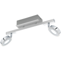 EGLO  CARDILLIO 95997 - Spot - 2X 3.3W/LED, 1X 3.3W/LED - Chrome/Satiné