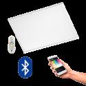 EGLO 96662 Salobrena CONNECT, Bluetooth LED-Deckenleuchte RGBW inkl. Fernbedienung CONNECT, weiss