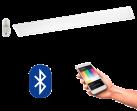 EGLO 96664 Salobrena CONNECT, Bluetooth LED-Deckenleuchte RGBW inkl. Fernbedienung CONNECT, weiss
