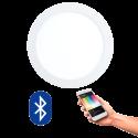 EGLO 96668 FUEVA CONNECT, Bluetooth LED-Einbauleuchten RGBW, weiss