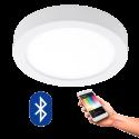 EGLO 96671 FUEVA CONNECT, Bluetooth LED-Deckenleuchte RGBW, weiss