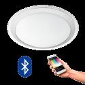 EGLO 96818 COMPETA CONNECT, Bluetooth LED-Deckenleuchte RGBW, weiss