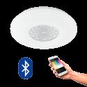 EGLO 96821 CAPASSO CONNECT, Bluetooth LED-Deckenleuchte RGBW, weiss