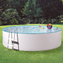 myPOOL Pool-Set SPLASH, 360 x 90 cm, weiss