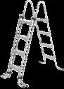 myPOOL Stahlrohrleiter, 1.2 m, Silber