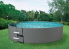 myPOOL Splash - Poolset - 3.6 x 0.9 m - Grau