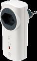 intertechno ITLR-3500T - Funk adattatore con interruttore disinnesto automatico 7s-8h - 2300 W - Bianco