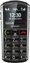 emporia Pure V25 - Mobiltelefon - Grosses Farbdisplay - Schwarz