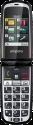 emporia GLAM V34 - Cellulare per anziani - Ampio display a colori - Bianco