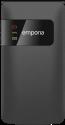 emporia FLIP basic - Cellulare pieghevole - Grande display a colori - Nero
